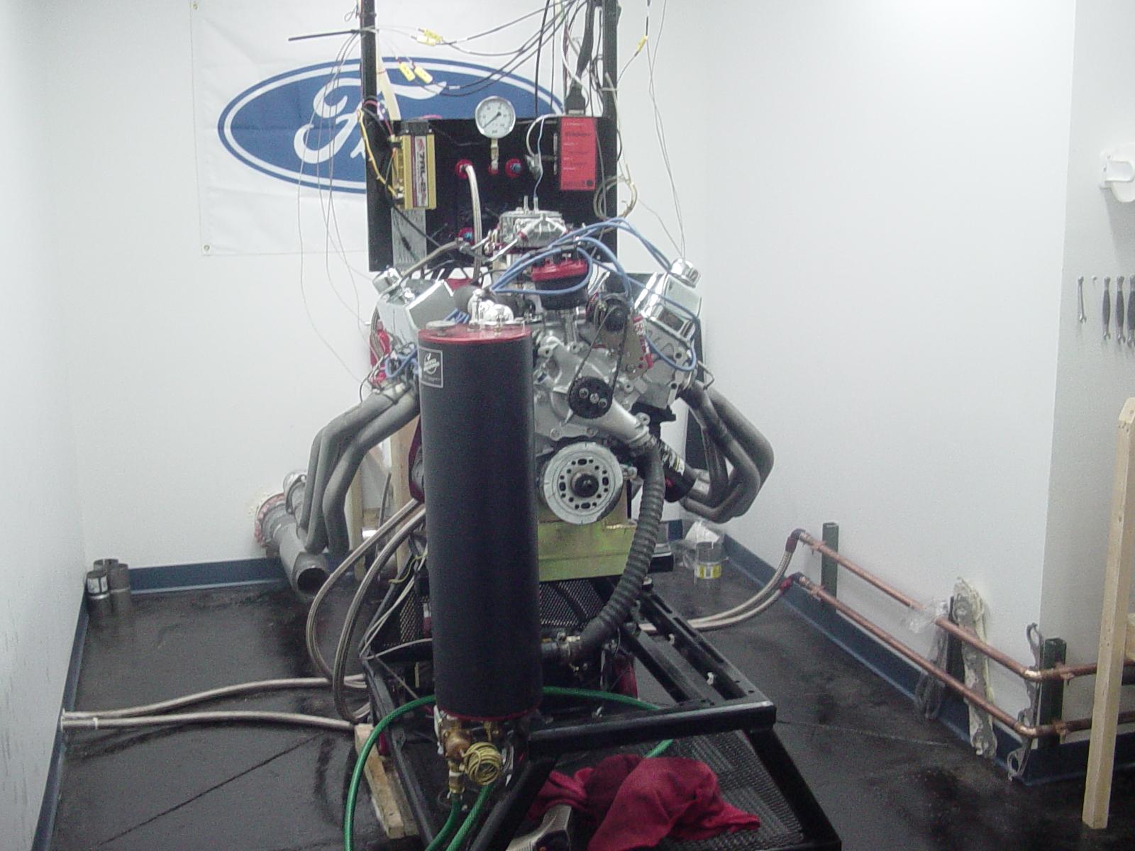 460 based engine with blue thunder heads   Barnett High